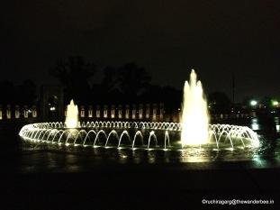 Night view, Washington DC