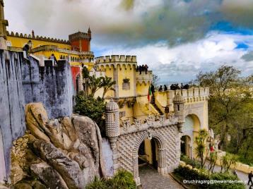 Fairy tale Castle, Pena Palace, Sintra